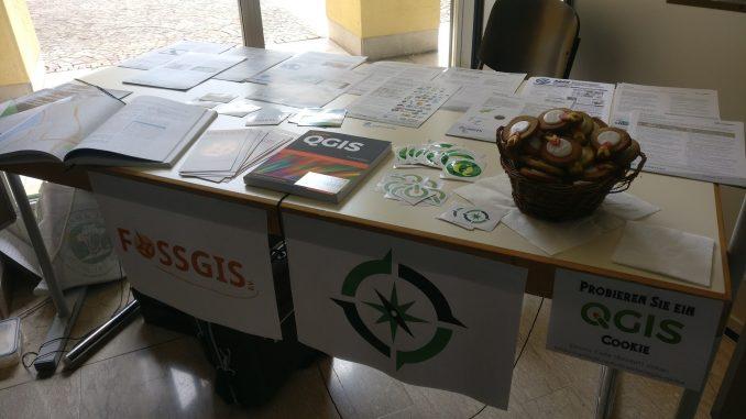 OSGeo Tisch