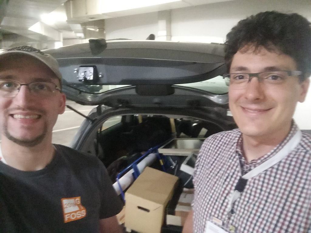 Weiteres Bild von Markus & Andi beim Auto