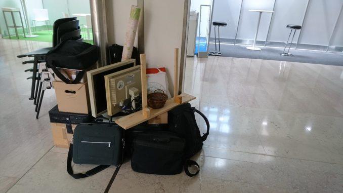 Zusammengepacktes Material